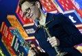 """Писатель Гузель Яхина на церемонии вручения Национальной литературной премии """"Большая книга"""" в Москв"""