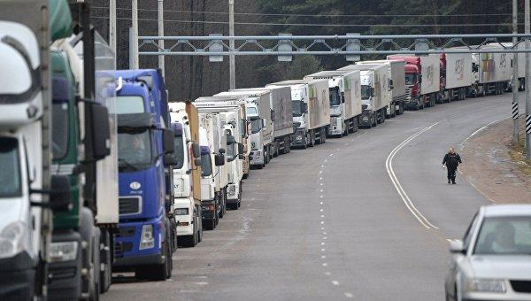 Российские грузовики. Архивное фото