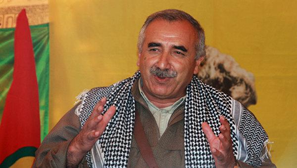 Руководитель Рабочей партии Курдистана Мурат Карайылан. Архивное фото