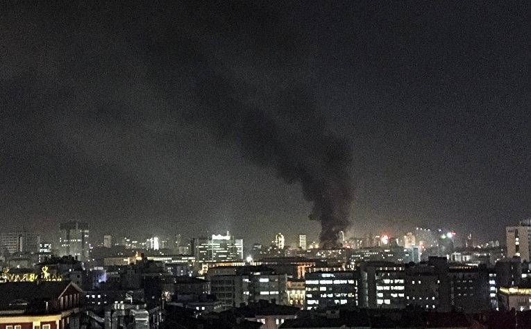 Взрыв у общежития для военных в центре Анкары, Турция