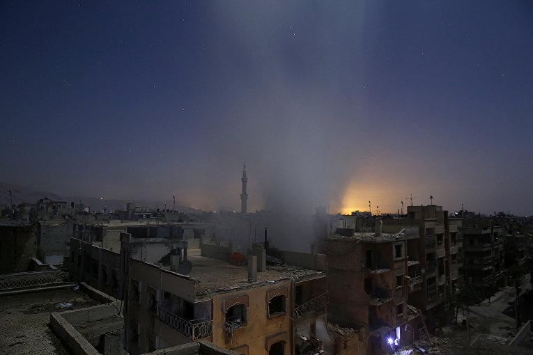 Последствия авиаударов в Сирии. 30 октября 2015. Самир Аль-Думи