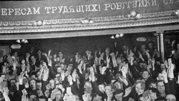 Депутаты Народного собрания голосуют за воссоединение Западной Украины с Советским Союзом