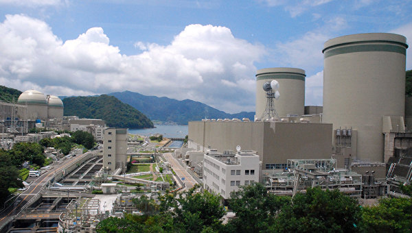 АЭС Такахама в префектуре Фукуи