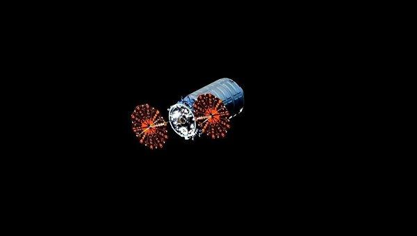 Автоматический грузовой космический корабль Cygnus. 19 февраля 2016. Архивное фото