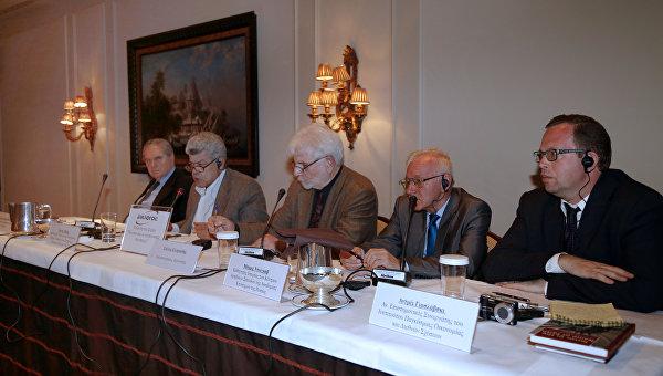 Форум в Афинах по Сирии