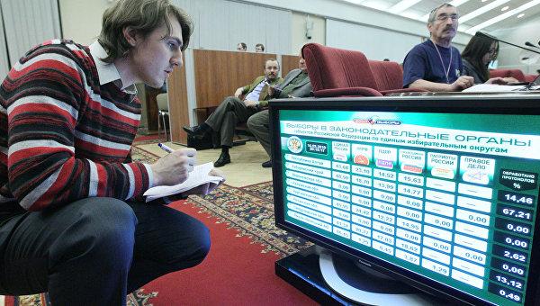 Единый день голосования в субъектах Российской Федерации. Архивное фото