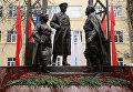 Скульптурная композиция, посвященная военным врачам и медицинским сестрам в Химках