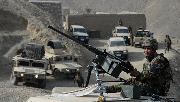 Афганские силы безопасности. Архивное фото