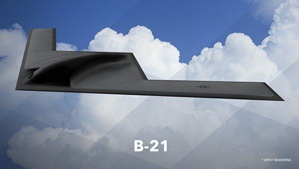 Первое изображение бомбардировщика ВВС США B-21