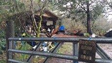 Дом в городе Белфэйр, в котором произошло убийство детей