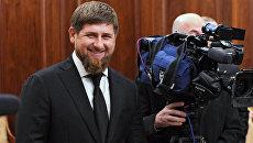 Врио главы Чеченской Республики Рамзан Кадыров. Архивное фото