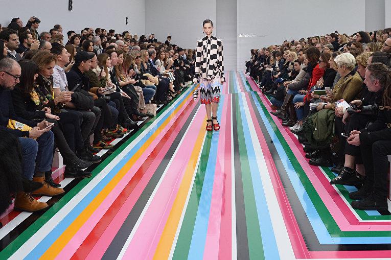 Показ Salvatore Ferragam в рамках Недели моды в Милане, Италия