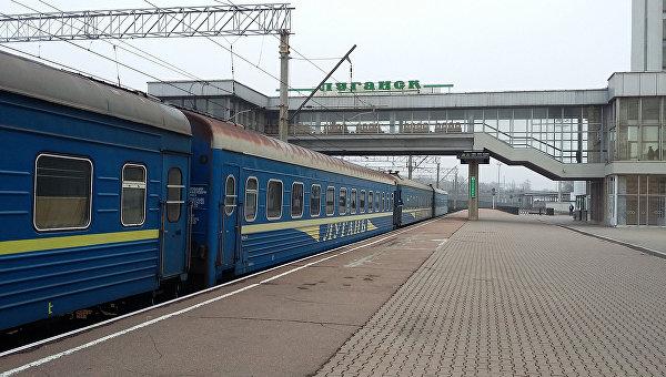 Первый пассажирский поезд из ЛНР в ДНР Луганск-Ясиноватая