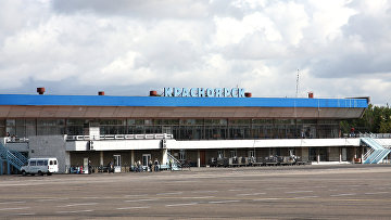 Аэропорт Емельяново (Красноярск). Архивное фото