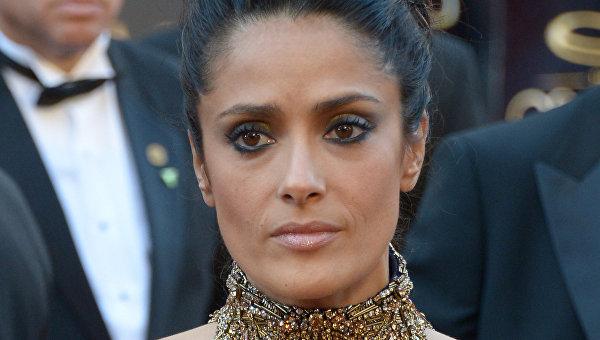 Мексикано-американская актриса Сальма Хайек