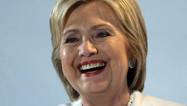 Кандидат в президенты США от демократов Хиллари Клинтон на праймериз во Флориде. Архивное фото