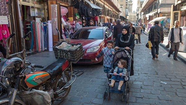 Жители Дамаска. Архивное фото