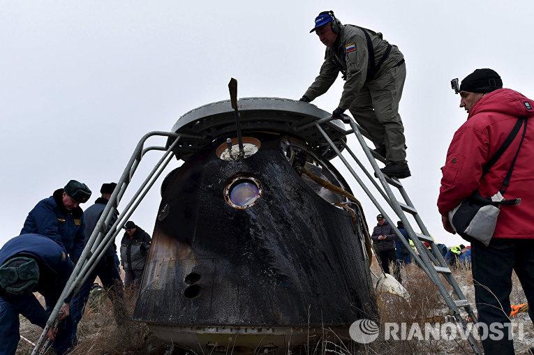 Капсула корабля Союз ТМА-18М