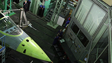 Лаборатория ОАО ОКБ Сухого. Архивное фото