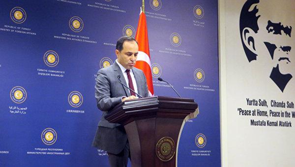 Пресс-секретарь МИД Турции Танжу Бильгич. Архивное фото