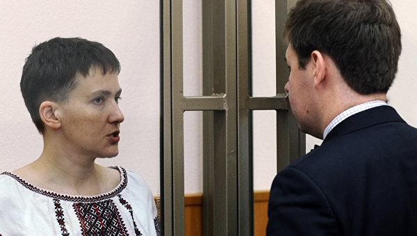 Заседание суда по делу гражданки Украины Надежды Савченко. Архивное фото