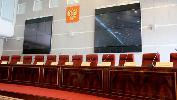 Зал заседаний ЦИК России