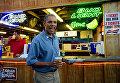 Президент США Барак Обама в штате Айова, США. 2012 год