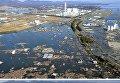 Снимок последствий цунами 12 марта 2011 (вверху) и снимок 2 марта 2016 (внизу) в Японии