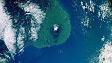 Вид на Новую Зеландию с МКС, Архивное фото