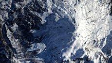 Вид на Эльбрус снятый с Международной космической станции. Архивное фото