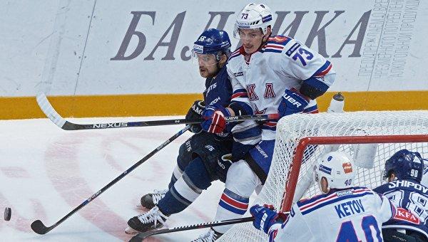 Хоккей. КХЛ. Матч Динамо (Москва) - СКА. Архивное фото