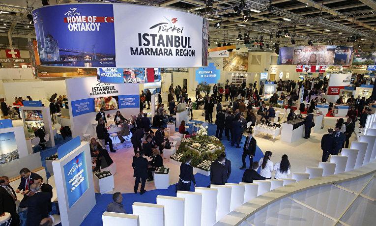 Выставочный стенд Турции. Международная туристическая ярмарка ITB в Берлине, март 2016