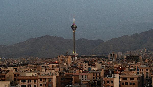 Города мира. Тегеран. Архивное фото.
