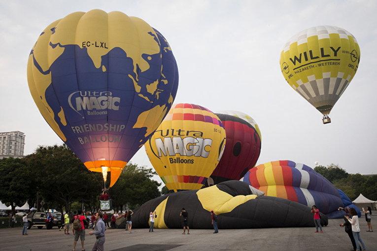 Фестиваль воздушных шаров в Путраджайе, Малайзия