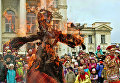 Празднование Масленицы в Крыму