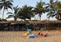 На месте теракта в курортном городе Гран-Басам на юге Кот-д'Ивуара. 13 марта 2016