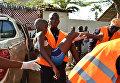 Мальчик, пострадавший во время теракта на пляже отеля Etoile du Sud, Кот-д'Ивуар. 13 марта 2016