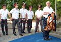 Станислав Говорухин на церемонии открытия XXIII российского кинофестиваля Кинотавр