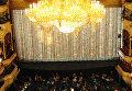 Вид на сцену и зрительный зал Большого театра