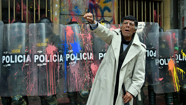 Беспорядки в Боготе, Колумбия