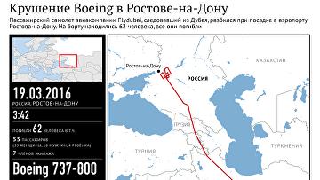 Крушение Boeing в Ростове-на-Дону
