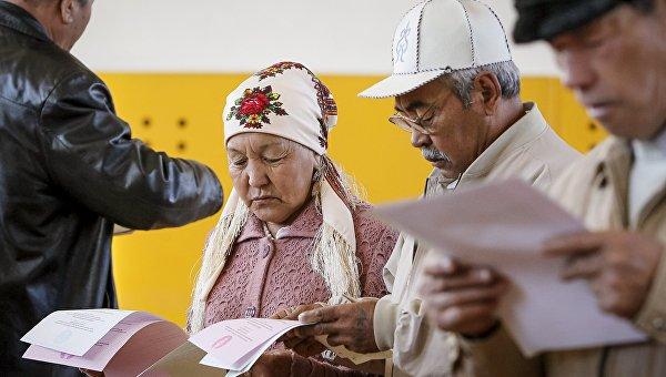 Выборы в Казахстане. Архивное фото
