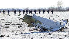 Поисковые работы на месте крушения лайнера Boeing 737-800. Архивное фото