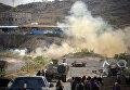 Столкновение правительственных войск с повстанцами-хуситами в городе Таиз на юге Йемена. 21 марта 2016