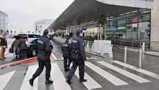 Полиция Бельгии аэропорту Брюсселя
