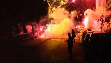 Столкновения демонстрантов с полицией в Стамбуле из-за отмены Навруза