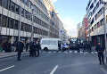 Сотрудники полиции на улице Брюсселя, Бельгия. 22 марта 2016