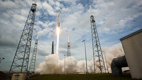 Старт ракеты Atlas V