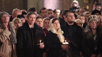 Празднование Рождества Христова в Санкт-Петербурге