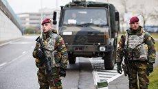 Бельгийские военнослужащие. Архивное фото